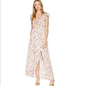 NWOT Jack Brylee Floral Printed Maxi Dress